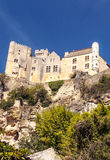 Castle on top of a mountain Royalty Free Stock Photography