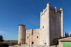 Castle Torija, Guadalajara, Spain Royalty Free Stock Image