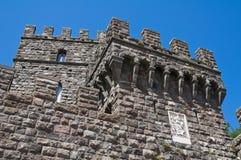 Castle of Torre Alfina. Lazio. Italy. Stock Photos