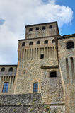 Castle of Torrechiara. Emilia-Romagna. Italy. Stock Images