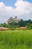 Castle of Torrechiara. Emilia-Romagna. Italy. Stock Photos