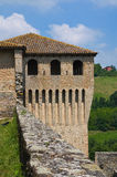 Castle of Torrechiara. Emilia-Romagna. Italy. Royalty Free Stock Photos
