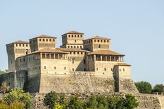 Castle of Torrechiara (Parma) Royalty Free Stock Photo