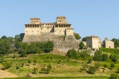 Castle of Torrechiara (Parma) Stock Photography