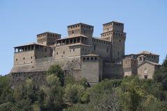 Castle of Torrechiara Parma, Italy Royalty Free Stock Photos