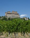 Castle of Torrechiara Parma, Italy Stock Image