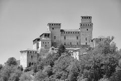 Castle of Torrechiara Parma, Italy Royalty Free Stock Image