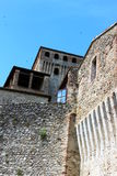 Castle of Torrechiara Stock Photos