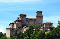 Castle of Torrechiara Royalty Free Stock Photography