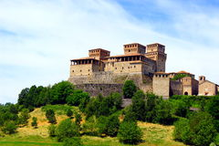 Castle of Torrechiara Royalty Free Stock Photo