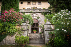 Castle Toscana royalty free stock photography