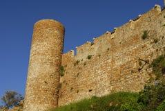 Castle in Tossa De Mar Royalty Free Stock Photo