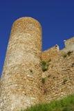 Castle in Tossa De Mar Stock Image
