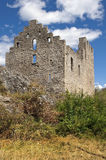 Castle Tourbillon, Sion. Ruined in the vicinity of Castle Tourbillon, Sion Royalty Free Stock Images