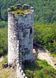 Castle tower. From above. Bezdez, Czech republic, Europe Stock Images
