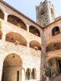 Castle Tower and Arches Royalty Free Stock Photography