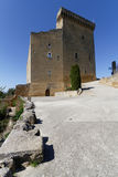 Castle tower in Chateauneuf-du-Pape Stock Photography