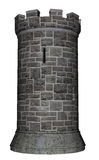 Castle tower - 3D render Royalty Free Stock Photography