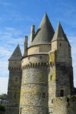 Castle tower in France Royalty Free Stock Image