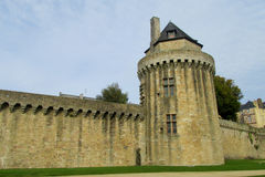 Castle tower in France Royalty Free Stock Photos