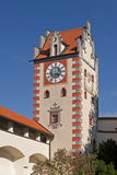 Castle tower in Fuessen Stock Photo