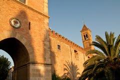 Castle tower of gherardesca, Bolgheri, Tuscany Stock Photo