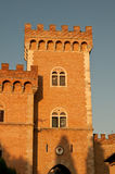 Castle tower of gherardesca, Bolgheri, Tuscany Stock Photo