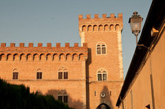 Castle tower of gherardesca, Bolgheri, Tuscany Stock Photography