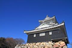 Castle tower of Hamamatsu castle in Hamamatsu, Shizuoka Royalty Free Stock Images