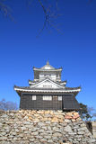 Castle tower of Hamamatsu castle in Hamamatsu, Shizuoka Stock Images