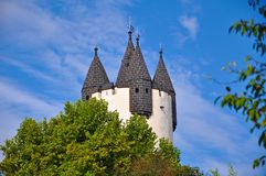 Castle tower (Hanau, Germany). Stock Photos