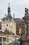 Castle Tower, Karlovy Vary Royalty Free Stock Photos