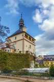 Castle Tower, Karlovy Vary, Czech republic Royalty Free Stock Image