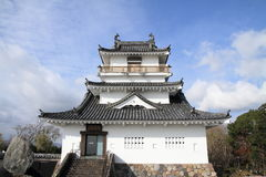 Castle tower of Kitsuki castle in Oita Royalty Free Stock Photography