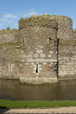Castle tower and moat. Stock Photography