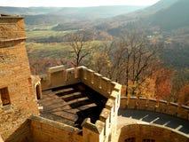 Castle Tower Nature Landscape Stock Photo