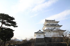 Castle tower of Odawara castle in Kanagawa Royalty Free Stock Images