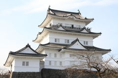 Castle tower of Odawara castle in Kanagawa Stock Photography