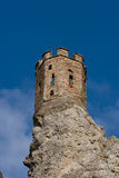 Castle tower on a rock Royalty Free Stock Photos