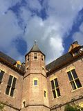 Castle tower. Tower of Vorden castle, the Netherlands Stock Photos
