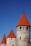 Castle towers Stock Image