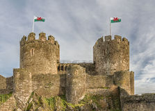 Castle Towers Royalty Free Stock Photography