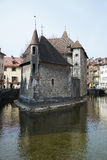 Castle in the town of Annecy, France Stock Photo