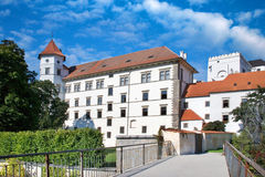 Castle and town Jindrichuv Hradec, Bohemia, Czech republic Stock Photography