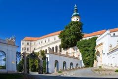 Castle, town Mikulov, South Moravia, Czech republic Royalty Free Stock Photo