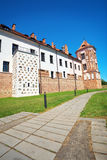 Castle in town Mir of Belarus. Stock Image