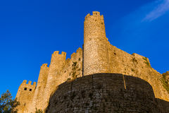 Castle in town Obidos - Portugal Royalty Free Stock Image