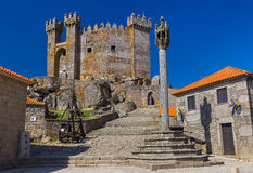 Castle in town Penedono - Portugal Royalty Free Stock Photo