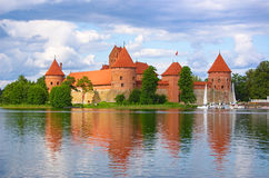 Castle of Trakai Royalty Free Stock Photography