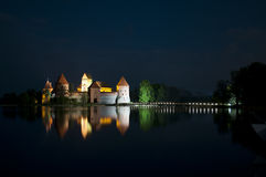 Castle of Trakai Stock Images